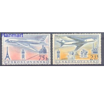 Znaczek Czechosłowacja 1957 Mi 1042-1043 Czyste **