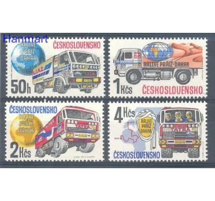 Znaczek Czechosłowacja 1989 Mi 2984-2987 Czyste **
