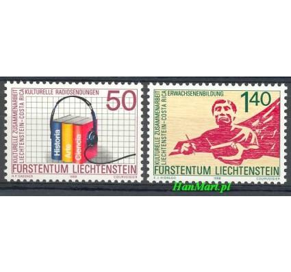 Znaczek Liechtenstein 1988 Mi 945-946 Czyste **