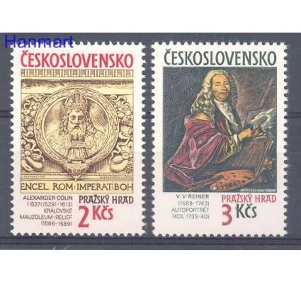 Znaczek Czechosłowacja 1989 Mi 3003-3004 Czyste **