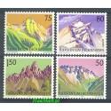 Liechtenstein 1989 Mi 974-977 Czyste **