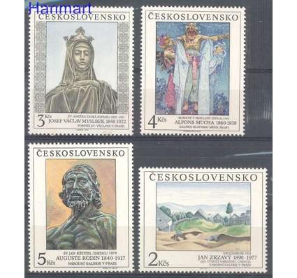 Znaczek Czechosłowacja 1990 Mi 3069-3072 Czyste **