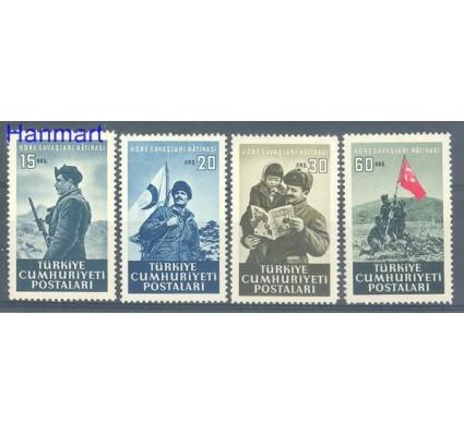 Znaczek Turcja 1952 Mi 1337-1340 Czyste **