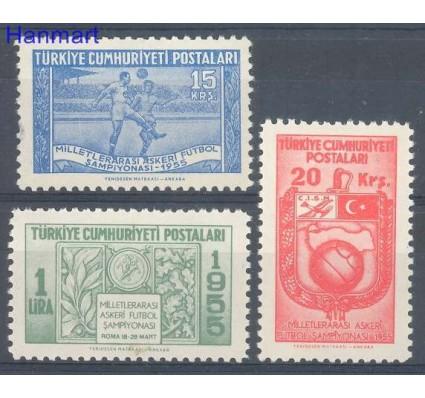 Znaczek Turcja 1955 Mi 1429-1431 Czyste **