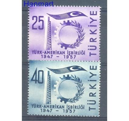Znaczek Turcja 1957 Mi 1520-1521 Czyste **