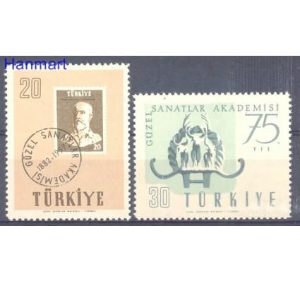 Znaczek Turcja 1957 Mi 1522-1523 Czyste **
