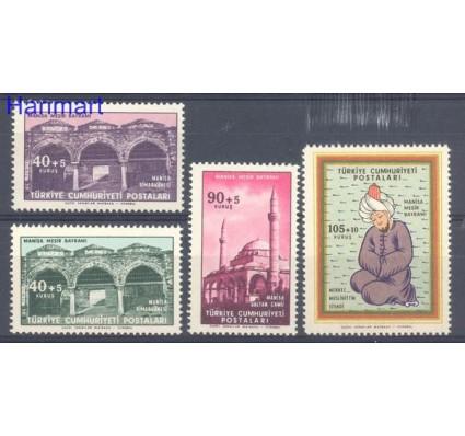 Znaczek Turcja 1960 Mi 1731-1734 Czyste **
