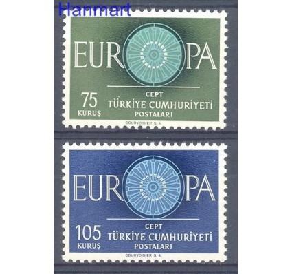 Znaczek Turcja 1960 Mi 1774-1775 Czyste **