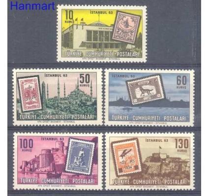 Znaczek Turcja 1963 Mi 1879-1883 Czyste **