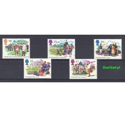 Wielka Brytania 1994 Mi 1529-1533 Czyste **