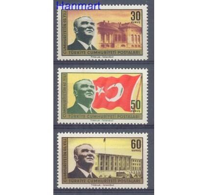 Znaczek Turcja 1963 Mi 1891-1893 Czyste **
