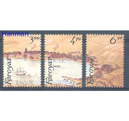 Znaczek Wyspy Owcze 1986 Mi 139-141 Czyste **