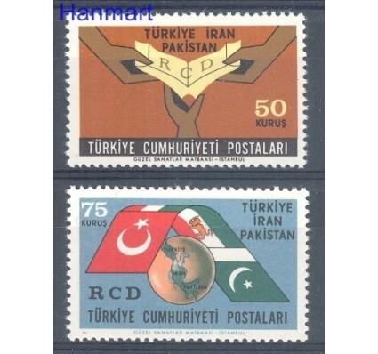 Znaczek Turcja 1965 Mi 1953-1954 Czyste **