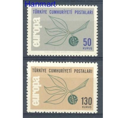 Znaczek Turcja 1965 Mi 1961-1962 Czyste **