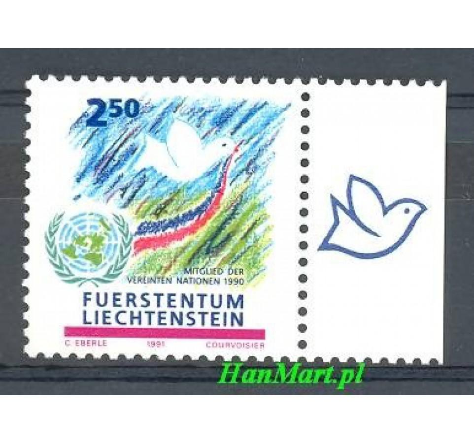 Liechtenstein 1991 Mi 1015 Czyste **