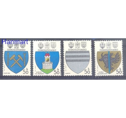 Znaczek Czechosłowacja 1980 Mi 2552-2555 Czyste **