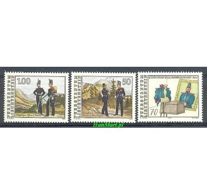 Znaczek Liechtenstein 1991 Mi 1020-1022 Czyste **
