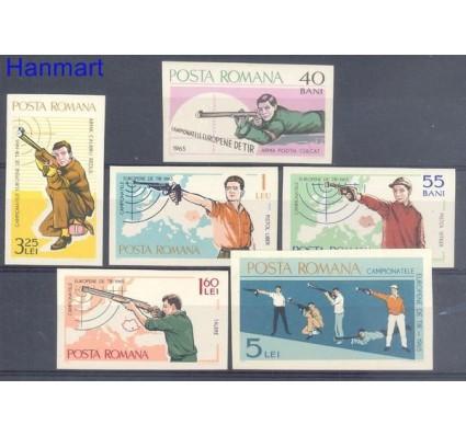 Znaczek Rumunia 1965 Mi 2413-2418 Czyste **