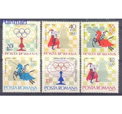 Znaczek Rumunia 1966 Mi 2478-2483 Czyste **