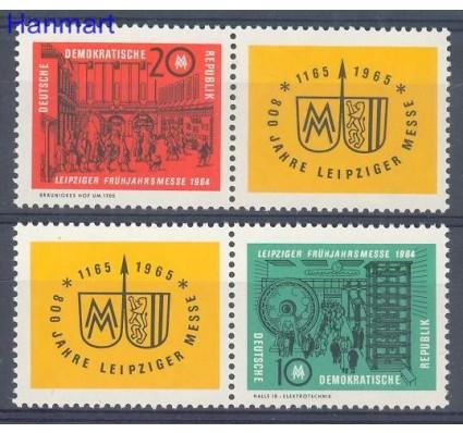 Znaczek NRD / DDR 1964 Mi 1012-1013 Czyste **