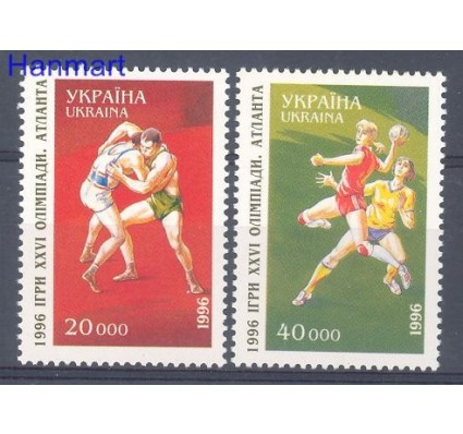 Znaczek Ukraina 1996 Mi 173-174 Czyste **