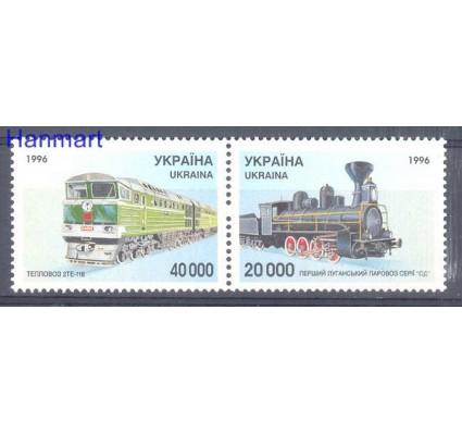Znaczek Ukraina 1996 Mi 178-179 Czyste **