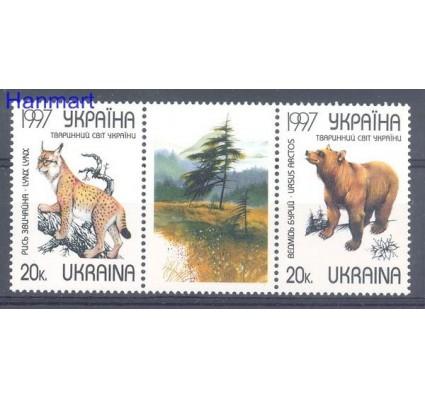 Znaczek Ukraina 1997 Mi 196-197 Czyste **