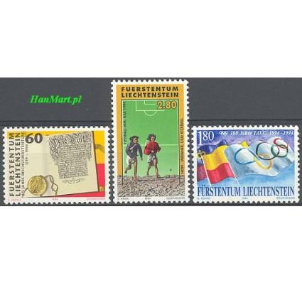 Liechtenstein 1994 Mi 1081-1083 Czyste **