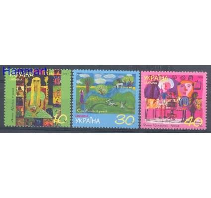 Znaczek Ukraina 2001 Mi 430-432 Czyste **