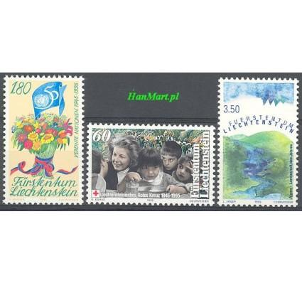 Znaczek Liechtenstein 1995 Mi 1105-1107 Czyste **