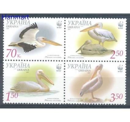 Znaczek Ukraina 2007 Mi 897-900C Czyste **
