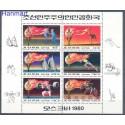 Korea Północna 1979 Mi ark 1860-1865 Czyste **