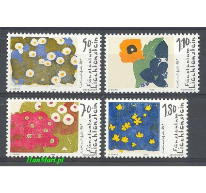 Znaczek Liechtenstein 1996 Mi 1132-1135 Czyste **