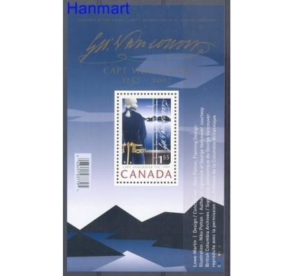 Znaczek Kanada 2007 Mi bl 95 Czyste **