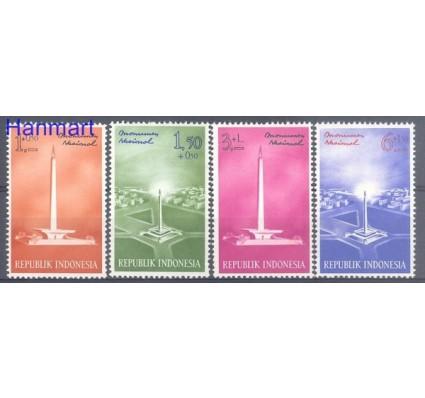 Znaczek Indonezja 1962 Mi 341-344 Czyste **