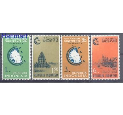 Znaczek Indonezja 1963 Mi 384-387 Czyste **