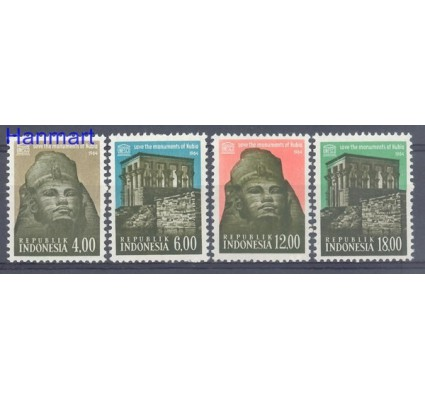 Znaczek Indonezja 1964 Mi 439-442 Czyste **