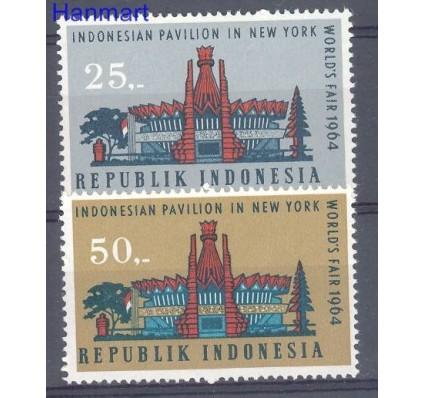 Znaczek Indonezja 1964 Mi 444-445 Czyste **