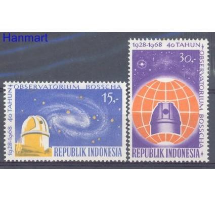 Znaczek Indonezja 1968 Mi 616-617 Czyste **