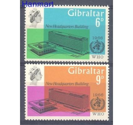 Znaczek Gibraltar 1966 Mi 182-183 Czyste **