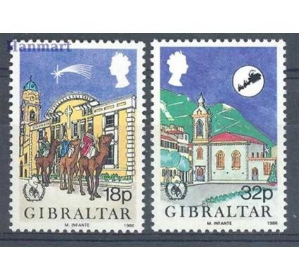 Znaczek Gibraltar 1986 Mi 517-518 Czyste **