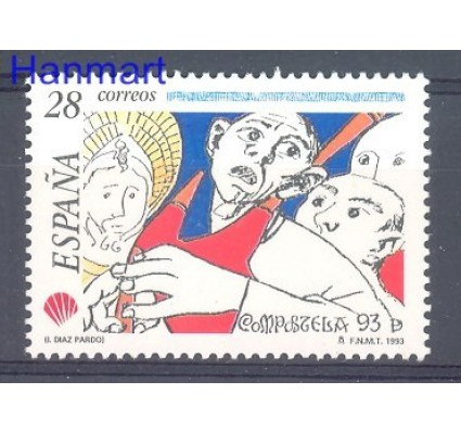 Znaczek Hiszpania 1993 Mi 3115 Czyste **