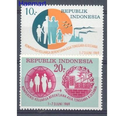 Znaczek Indonezja 1969 Mi 639-640 Czyste **