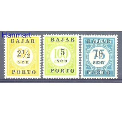 Znaczek Indonezja 1950 Mi 1-3 Z podlepką *