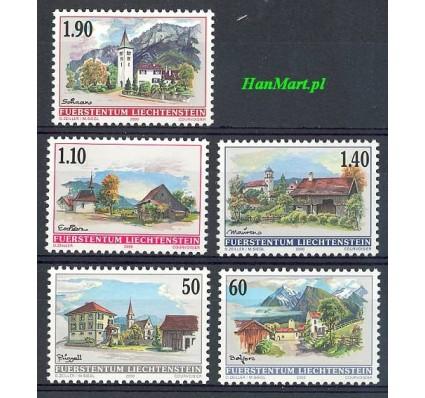 Liechtenstein 2000 Mi 1229-1233 Czyste **