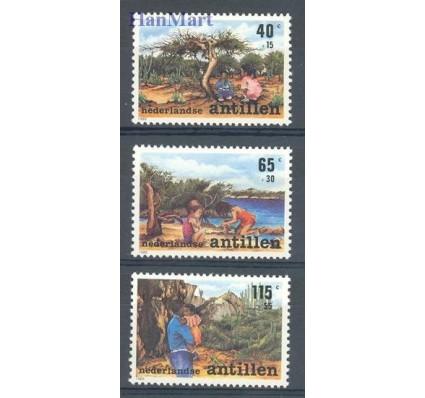 Znaczek Antyle Holenderskie 1989 Mi 664-666 Czyste **