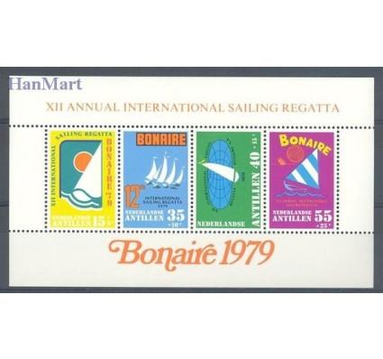 Znaczek Antyle Holenderskie 1979 Mi bl 10 Czyste **