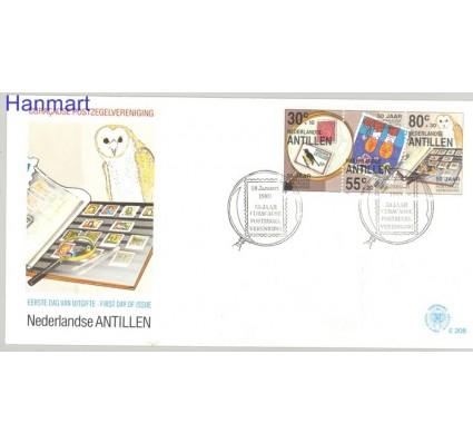 Antyle Holenderskie 1989 Mi 652-654 FDC
