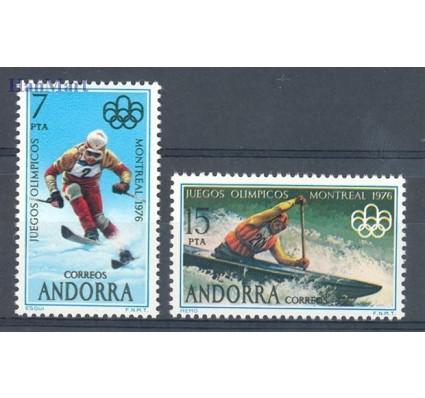 Znaczek Andora Hiszpańska 1976 Mi 103-104 Czyste **