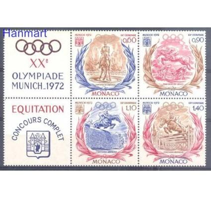 Znaczek Monako 1972 Mi zf 1045-1048 Czyste **